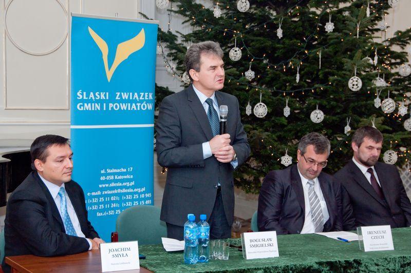 """Siedziba Zespołu """"Śląsk"""" otwarta dla Władz Samorządowych"""
