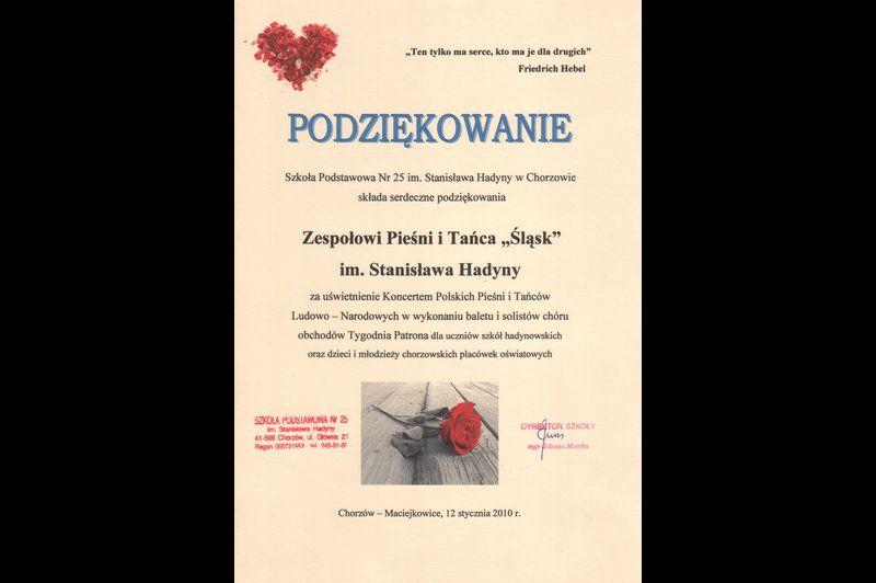 Koncerty Zespołu w Chorzowie